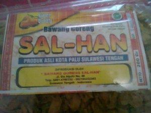 Bawang goreng dari Palu
