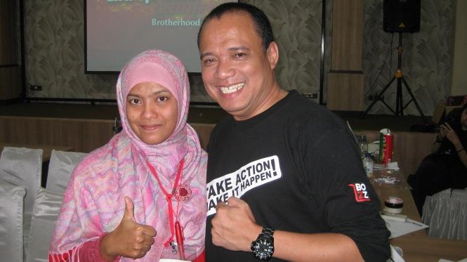 Cahya (Ecamp 84) dan Roni Waluya (Ecamp 14)