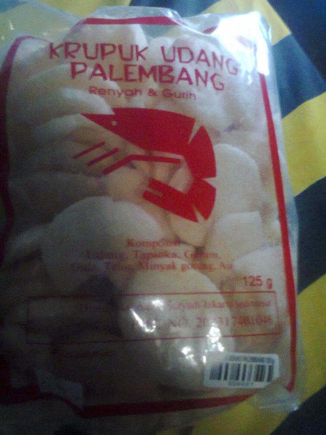 Kerupuk dari Palembang